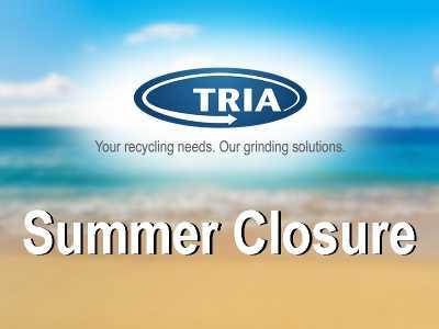 TRIA ITALY: Summer closure 2021