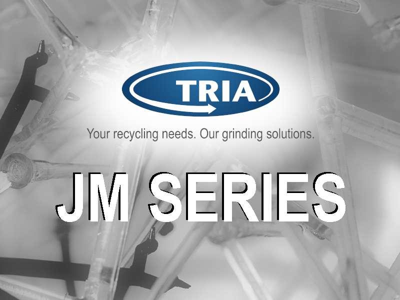 New JM Series 15, granulators for injection moulding